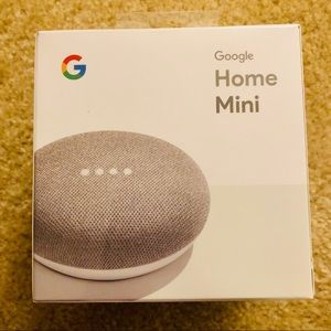 🧨NEW Google Home Mini Chalk